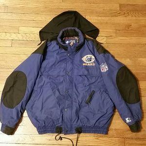 Retro BEARS. STARTER. Jacket